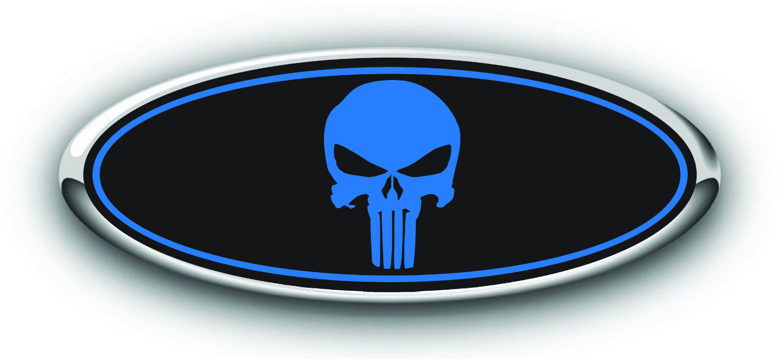 Ford Punisher Decals Darkside Racing Art Ford Overlay